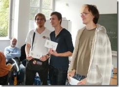 Die Sieger vom 9. Schweriner Go-Turnier